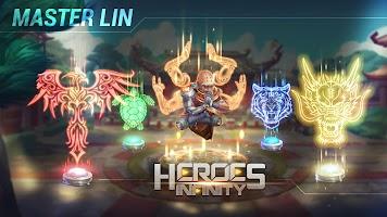 Heroes Infinity: RPG + Strategy + Super Heroes