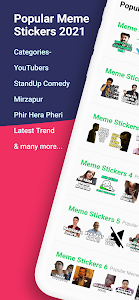 Famous Memes Stickers  2021 - WAStickerApps 1.03