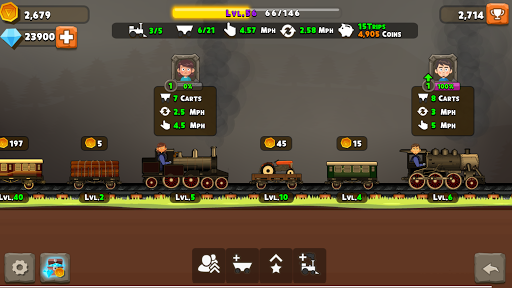 TrainClicker Idle Evolution apkpoly screenshots 5