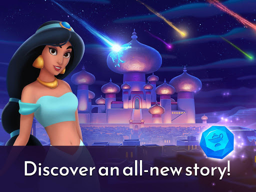 Disney Princess Majestic Quest: Match 3 & Decorate  screenshots 15