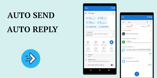 Do It Later - Schedule SMS, Auto Reply Text, Whats screen 0
