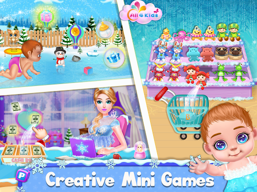 Ice Princess Pregnant Mom and Baby Care Games 0.16 Screenshots 6