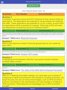 AWS Cert Solution Architect Associate PRO: SAA-C02 Screenshot