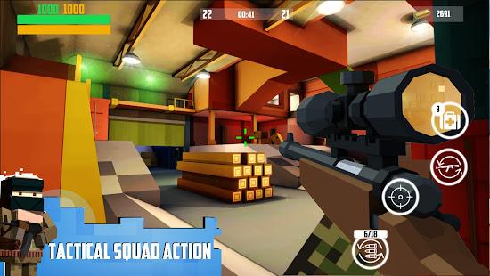 Block Gun: FPS PvP War – Online Gun Shooting Games [v6.8] APK Mod for Android logo