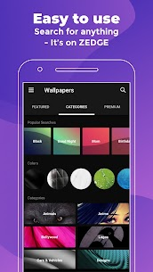 ZEDGE™ Wallpapers & Ringtones MOD APK (Unlimited Credits) 3