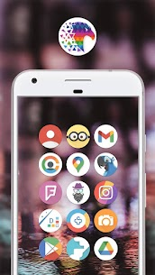 Pix Up – Round Icon Pack v3.2 [Patched] 1