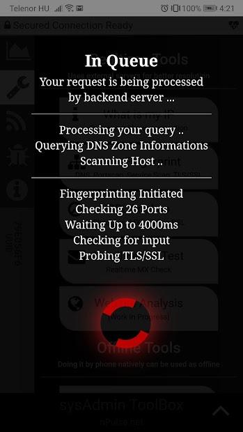 Captura de Pantalla 4 de sysAdmin ToolBox para android
