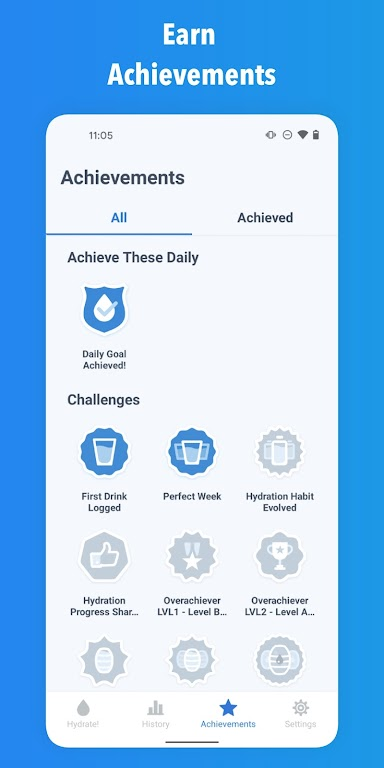 WaterMinder - Water Tracker and Drink Reminder App  poster 2