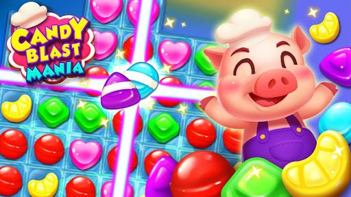 Candy Blast Mania - Match 3 Puzzle Game screenshots 1