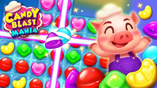 Candy Blast Mania – Match 3 Puzzle Game 1.5.5 Apk + Mod 1