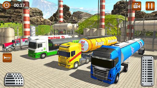 Offroad Oil Tanker Truck Transport Driver  Screenshots 11