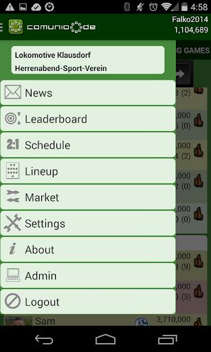 Comunio 1.11.67 screenshots 5