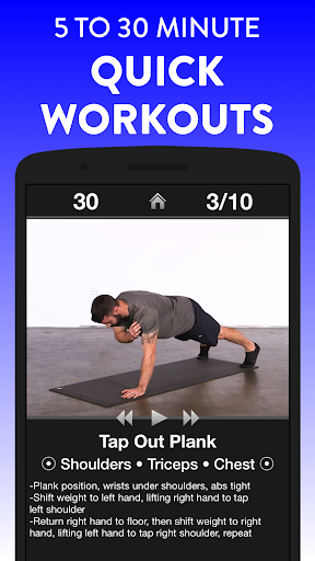 Daily Workouts Free - Home Fitness Workout Trainer 6.30 Screenshots 3