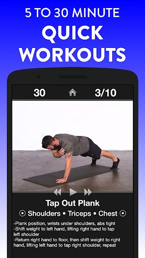 Daily Workouts Fitness Trainer apktram screenshots 3