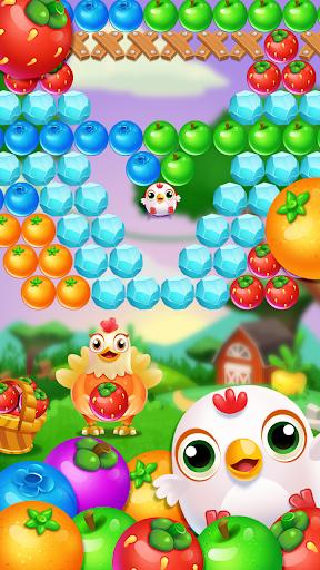 Chicken pop - Fruits bubble splash 1.0.7 screenshots 5