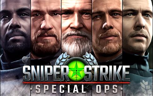 Sniper Strike MOD APK v500077 (MOD, Unlimited Money) 5