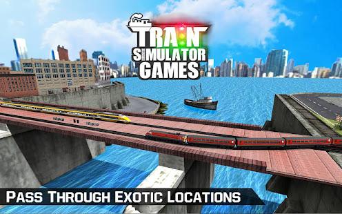 City Train Driver Simulator 2021:Free Train Games 10.8 Screenshots 6