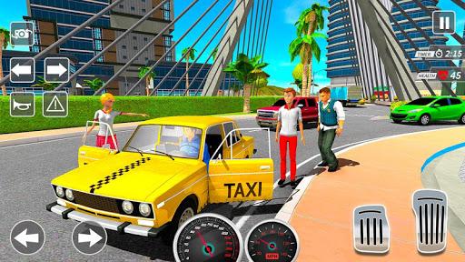 Taxi Driving Simulator City Car New Games 2021 0.3 screenshots 1