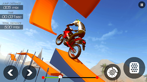 Real Bike Stunts - New Bike Race Game 1.5 screenshots 1