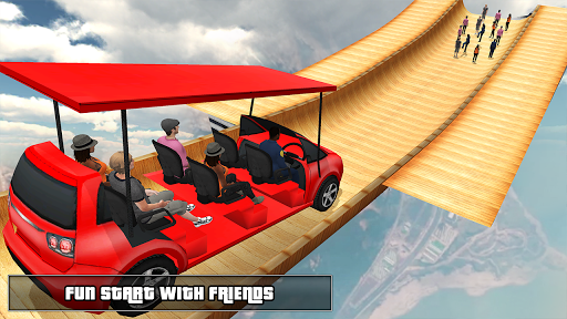Biggest Mega Ramp With Friends - Car Games 3D 1.13 screenshots 11