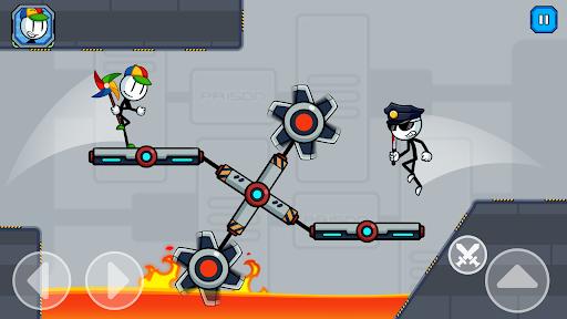 Stick Fight - Prison Escape Journey of Stickman apkpoly screenshots 15