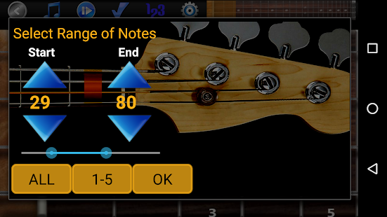 Bassgitarren-Tutor Pro - Bass spielen lernen Screenshot