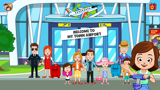 My Town : Airport. Free Airplane Games for kids 1.03 Screenshots 1
