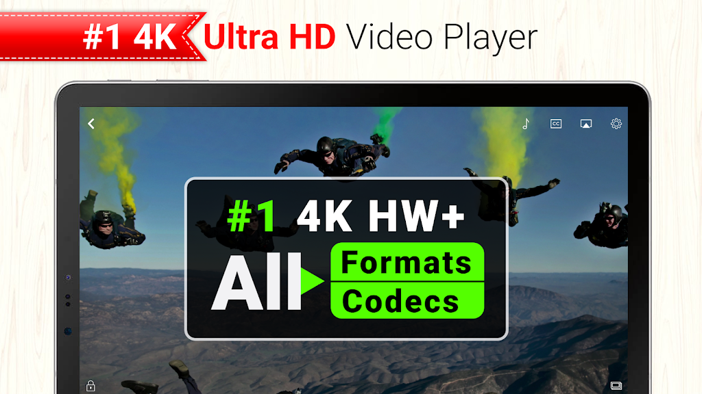 CnX Player - Powerful 4K UHD Player - Cast to TV  poster 8