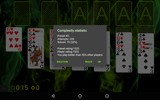 Russian Cell Solitaire screenshots 23