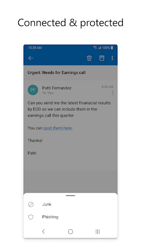 Microsoft Outlook: Secure email, calendars & files 4.2105.3 screenshots 5