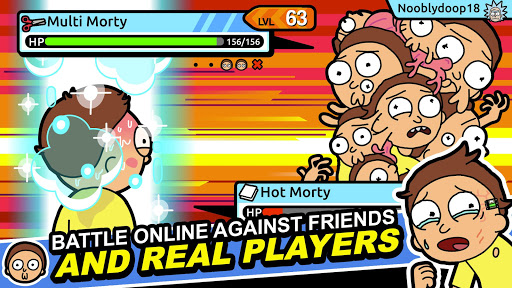 Rick and Morty: Pocket Mortys apkslow screenshots 2