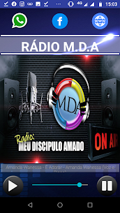 Web Rádio M.D.A  For Pc (Windows 7, 8, 10 And Mac) 1