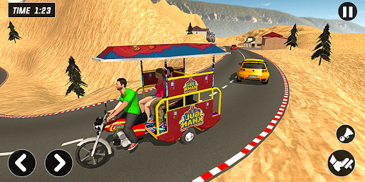 Chingchi Rickshaw Game:Tuk Tuk Parking Simulator screenshots 4