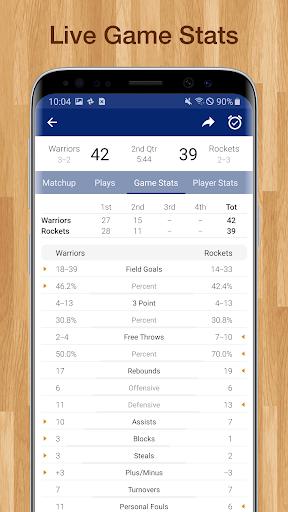 Basketball NBA Live Scores, Stats, & Schedules 9.2.1 Screenshots 11