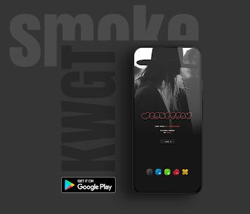 Smoke kwgt 2020 Apk 5