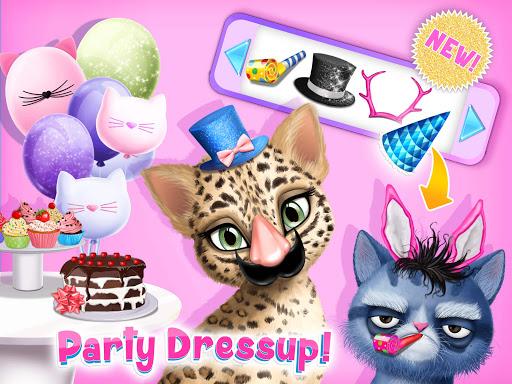 Cat Hair Salon Birthday Party - Virtual Kitty Care 8.0.80007 screenshots 14