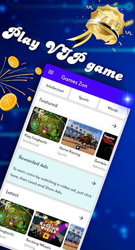 Games Zon Play Unlimited Game And Win Coin apkdebit screenshots 4