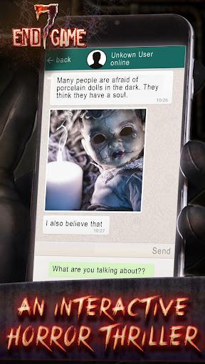 Seven Endgame - Scary Horror Messenger Thriller 1.0.77 screenshots 1