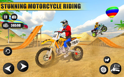 Beach Water Surfer Dirt Bike: Xtreme Racing Games 1.0.5 screenshots 1