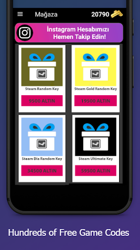GiftCode - Free Game Codes android2mod screenshots 4