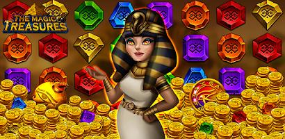 The magic treasures: Pharaoh's empire puzzle