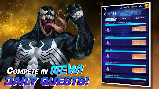MARVEL Puzzle Quest: Join the Super Hero Battle! Apkfinish screenshots 11