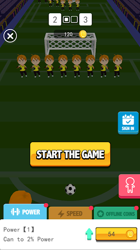 Mania Soccer-Stars Strike&Soccer Kick Game  screenshots 1