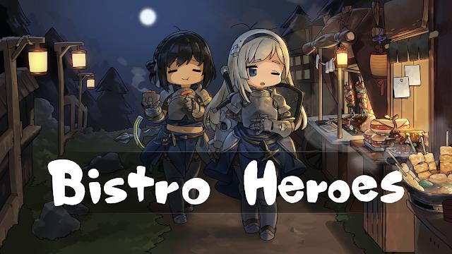Bistro Heroes MOD (1 Hit, Mở khóa Anh hùng, công thức)