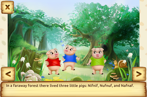 Three Little Pigs - Fairy Tale with Games 1.6.0 screenshots 2