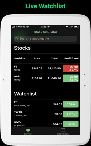 Foto do StockMarketSim - Stock Market Simulator