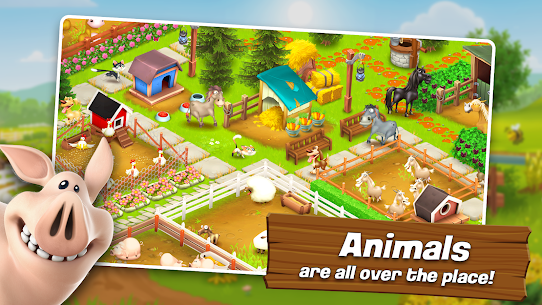 Hay Day APK MOD 1.51.91 (Unlimited Coins/Game/Seeds) 3