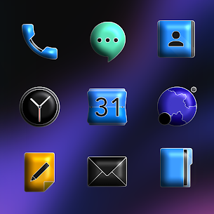 Download FluOxigen 3D – Icon Pack (Patched) 2