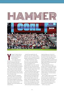 West Ham United FC Programme