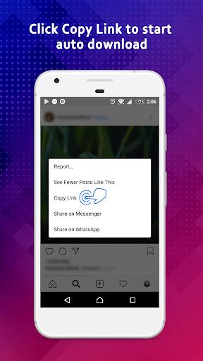 Video Downloader for Instagram & IGTV modavailable screenshots 3